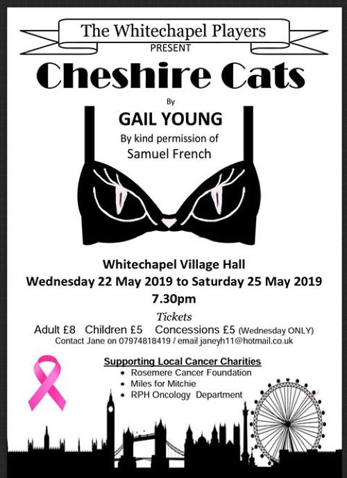 Cheshire Cats Production Poster