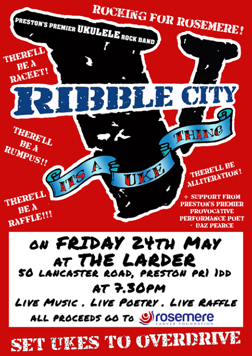 Poster for Ribble City Concert