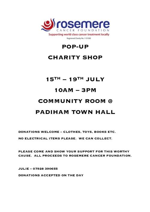 Padiham pop-up poster