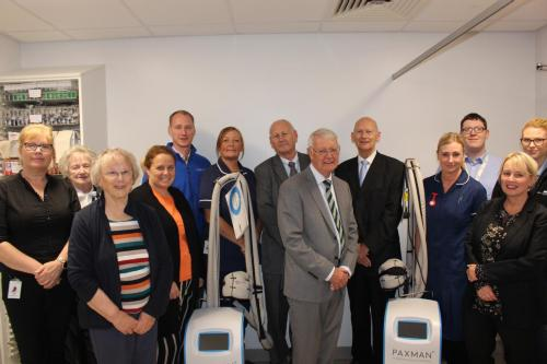 New state-of-the-art cold caps for East Lancs patients