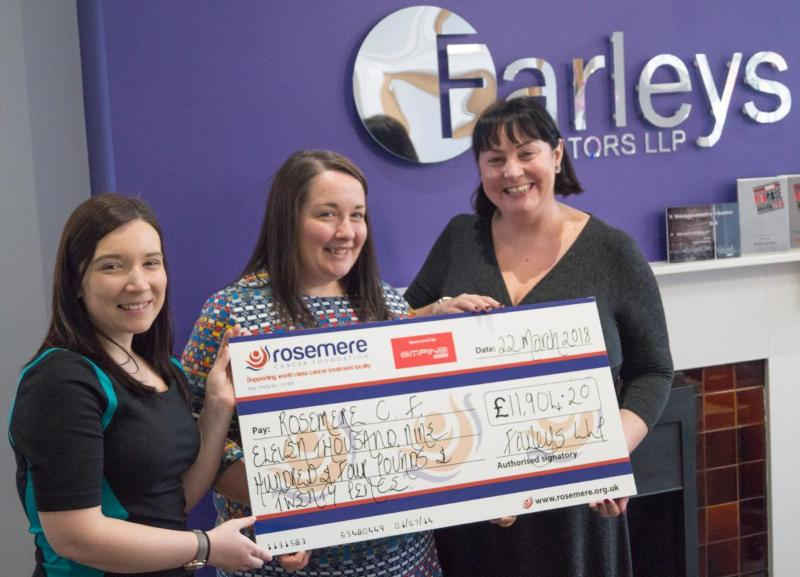 Farleys Solicitors support Rosemere