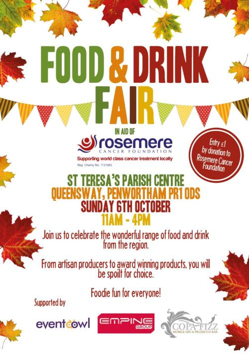 Food and Drink Fair Poster