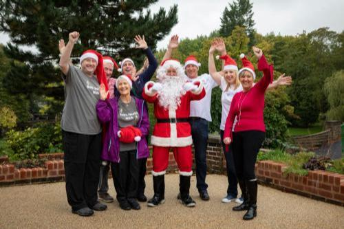 Santa Dash Burnley PR photo