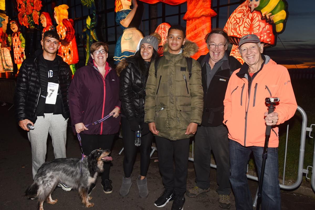 Walkers from 2019 Walk the Lights